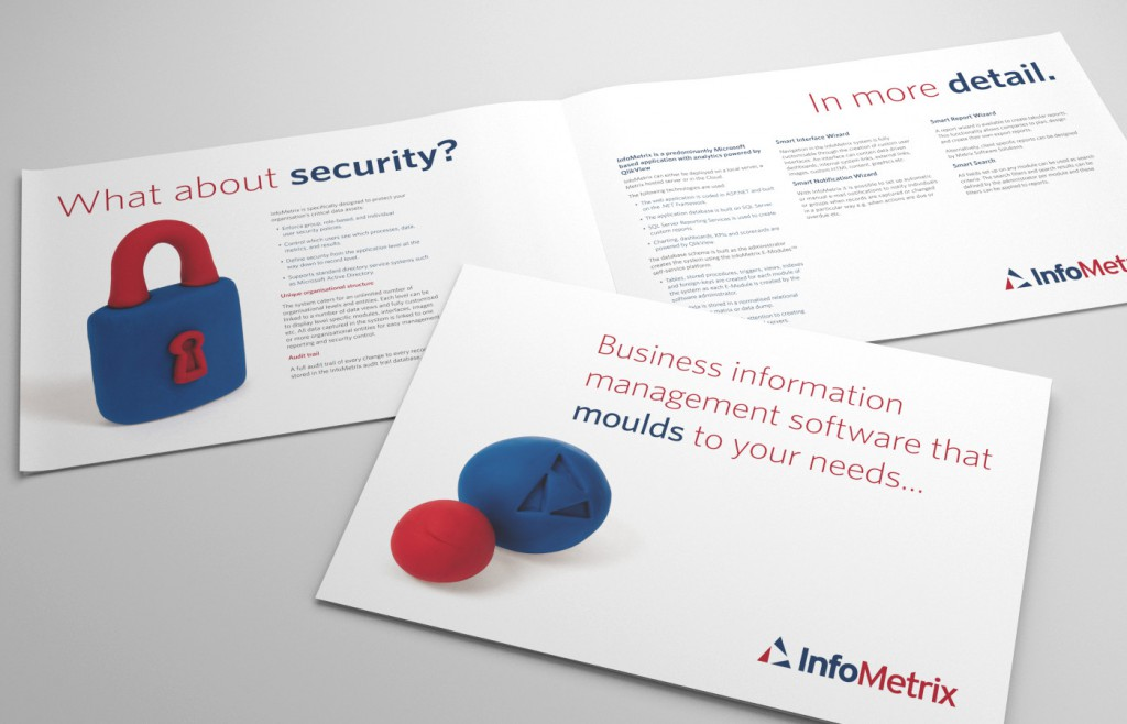 Printed Design Infometrix Brochure