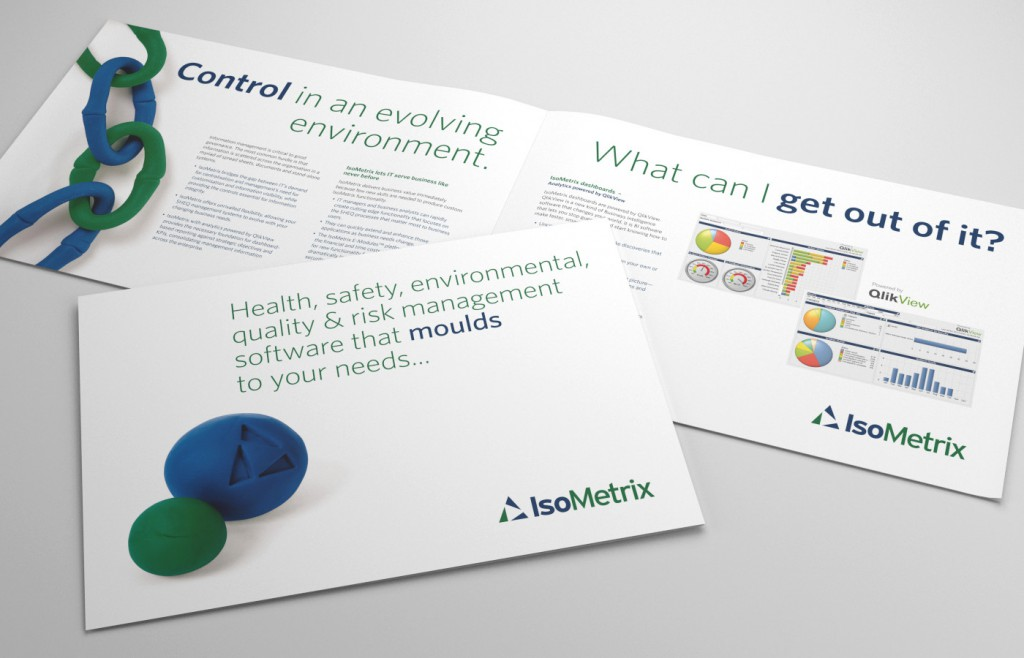 Printed Design Isometrix Brochure