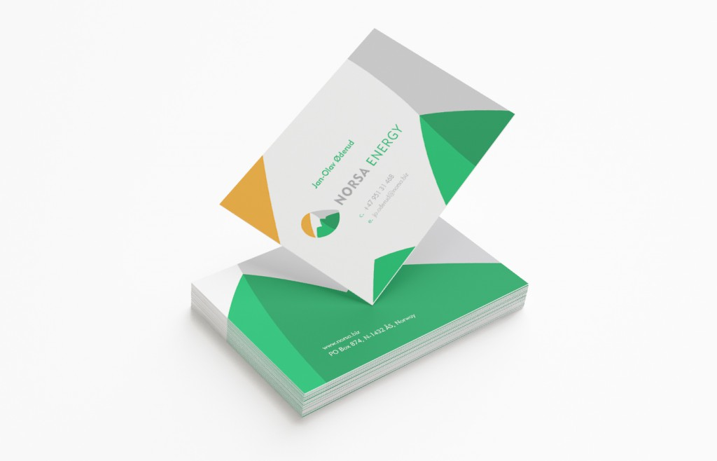Norsa Energy Business Card Design
