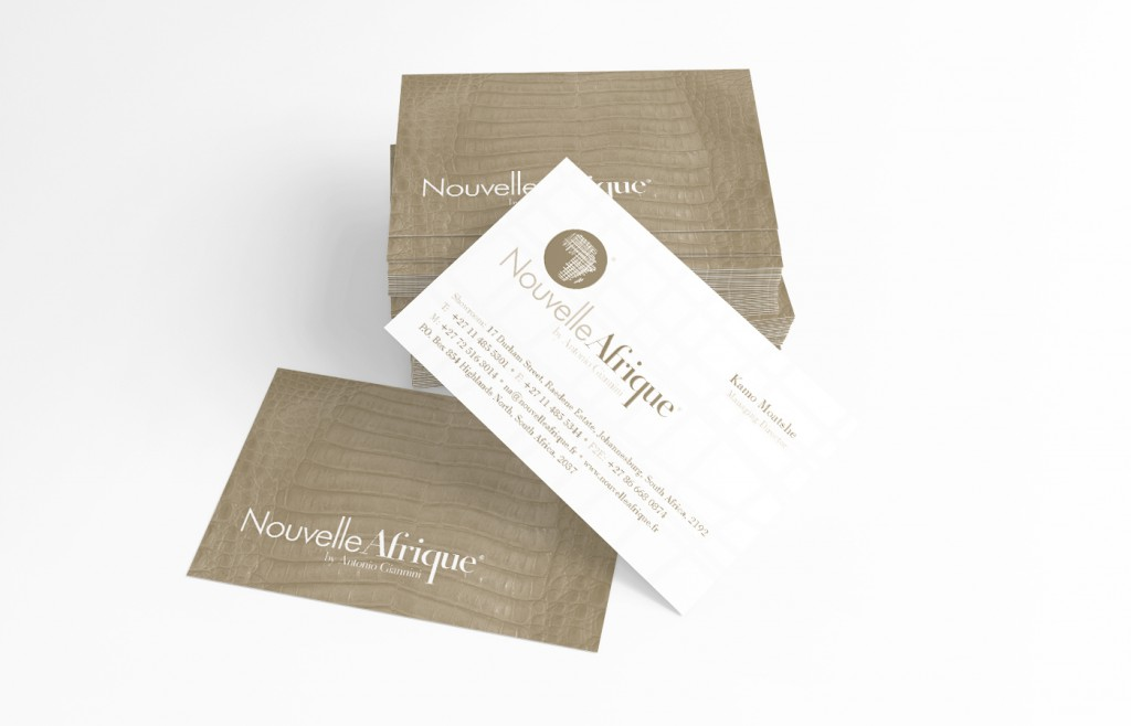 Identity Business Card Nouvelle Afrique