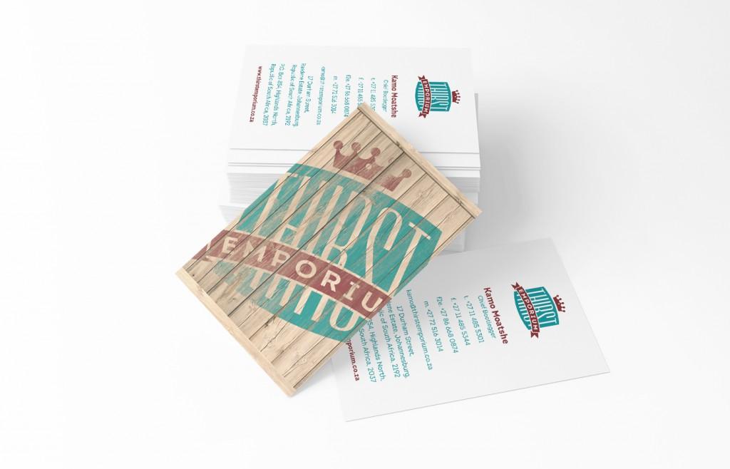 Thirst Emporium Business Cards