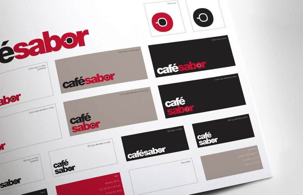 Cafe Sabor Logo Usage