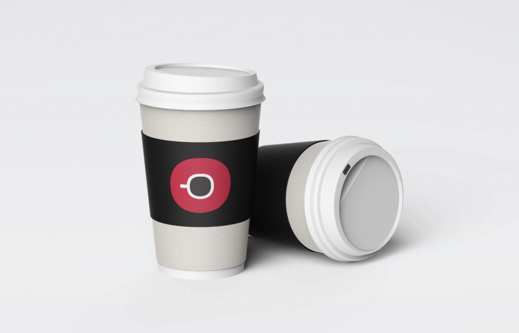 Cafe Sabor Cup Design