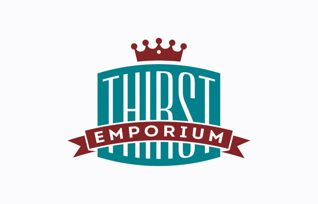Thirst Emporium Logo Design