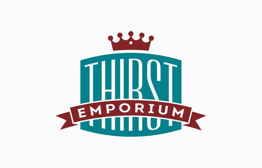 Thirst Emporium Logo Design