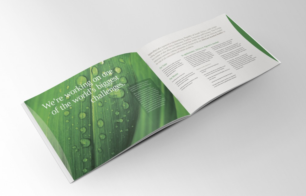 Agrore Brochure Design