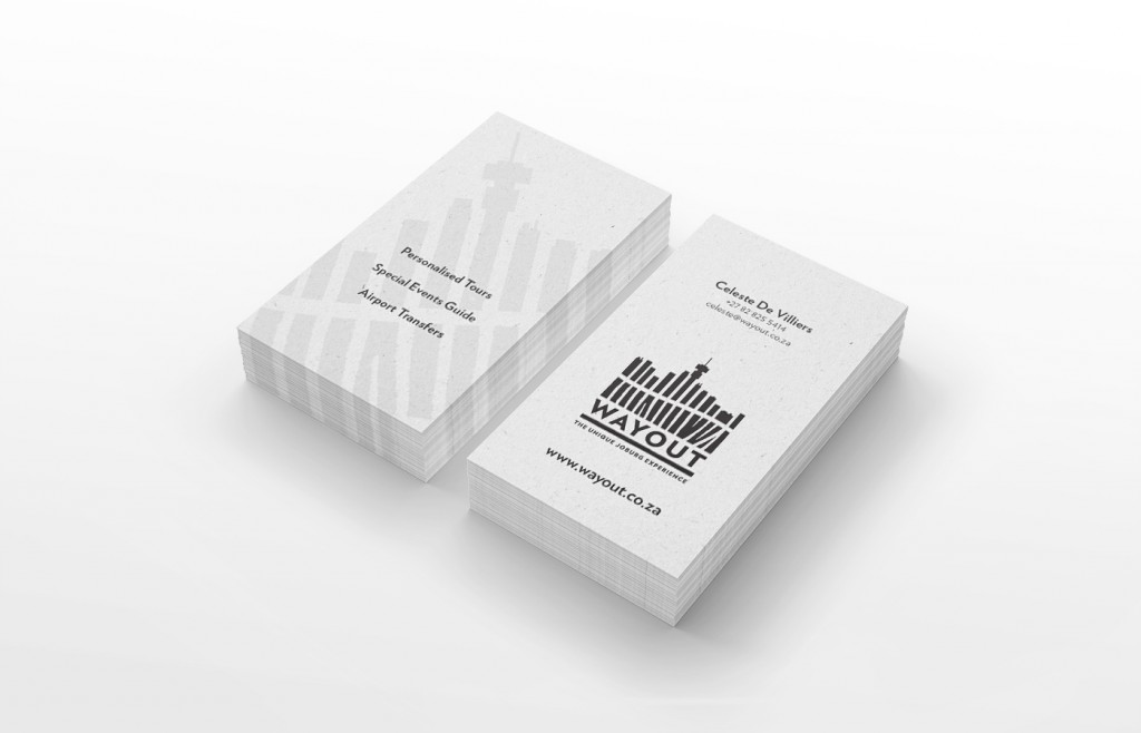 Wayout Business Card Design