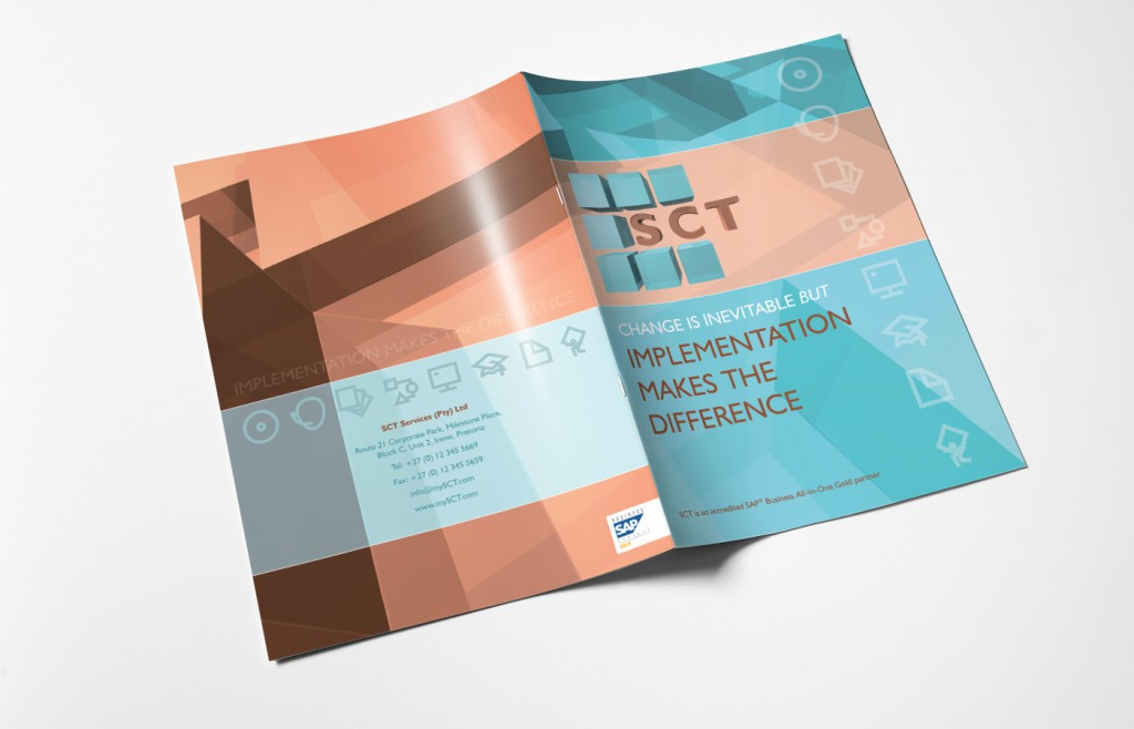 SCT Brochure Design