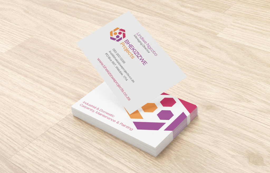 Bhekizizwe Business Card Design