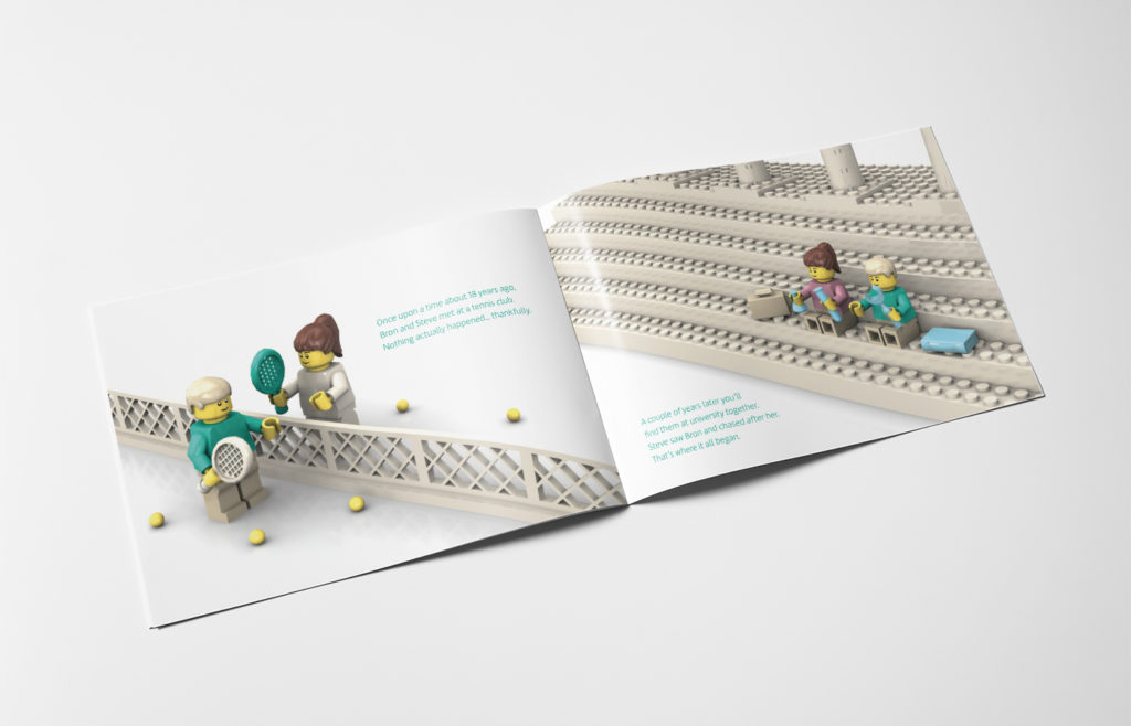 Lego Wedding Invite Design
