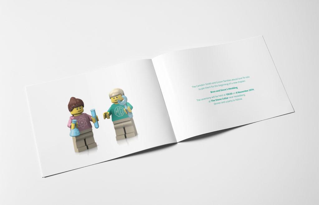 Lego Wedding Invite Design