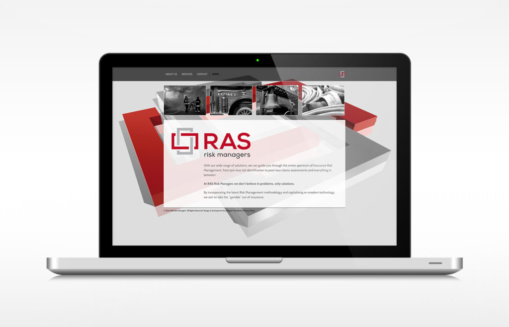 RAS Risk Managers Website Design