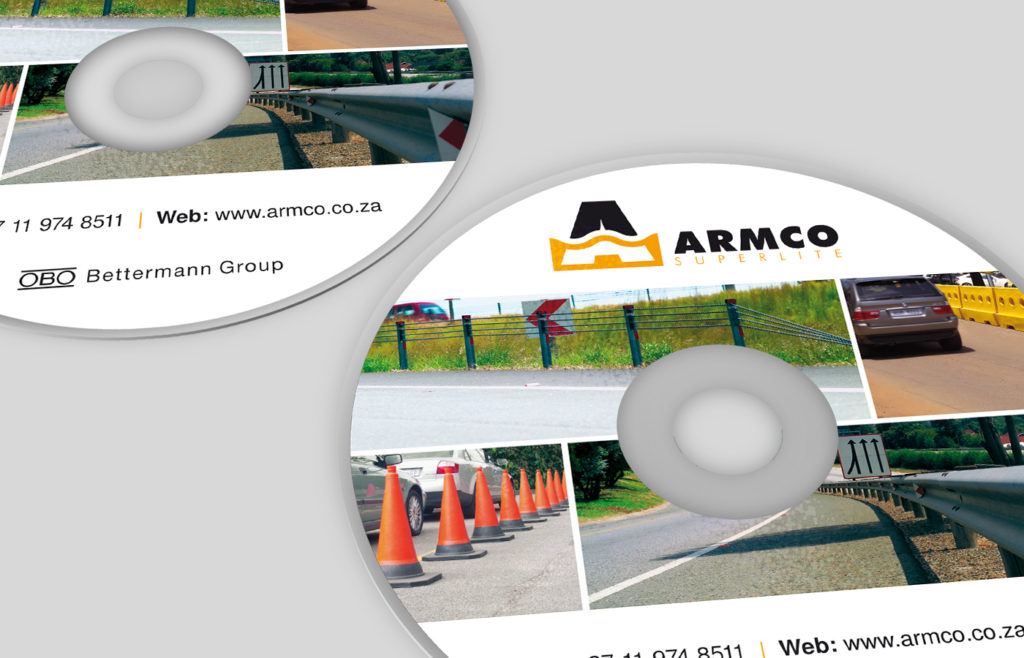 Armco CD Presentation CD Design