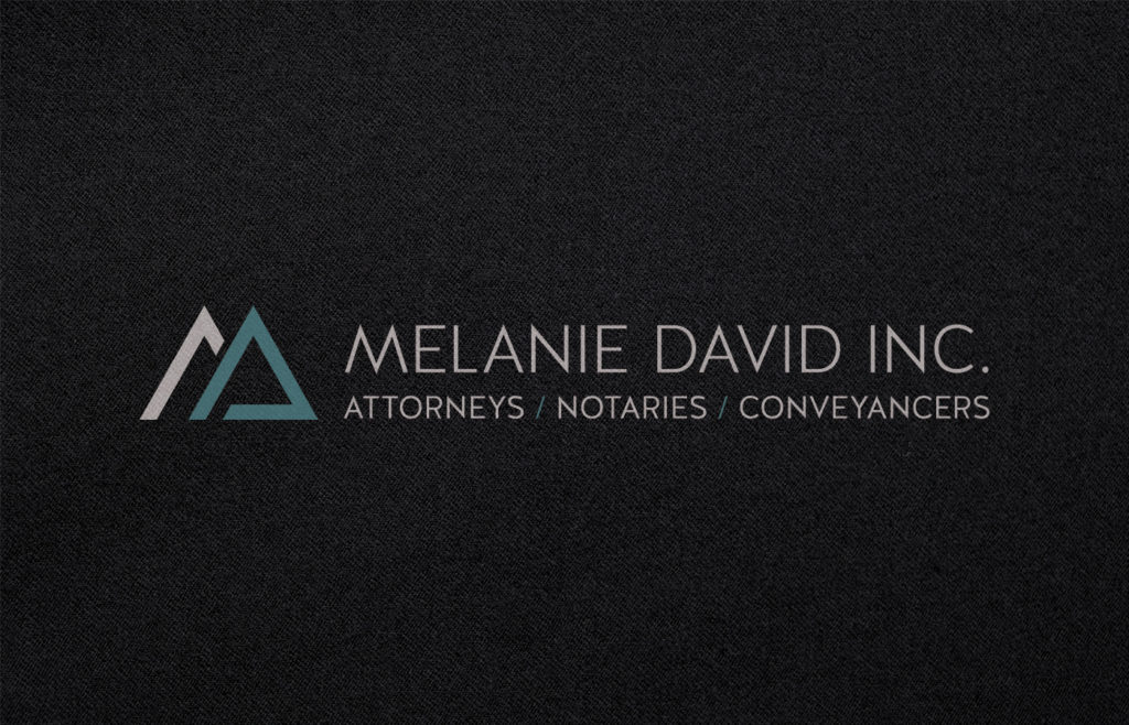 Melanie David Inc. Logo Design