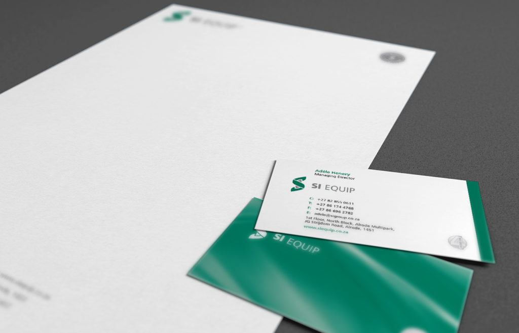 SI Equip Stationery Design