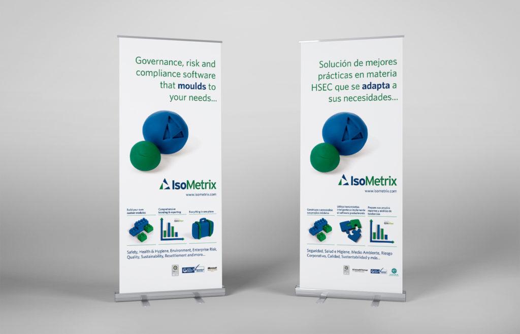 IsoMetrix Pull-up Banner Design
