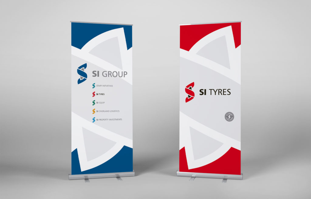 SI Group Pull-up Banner Design