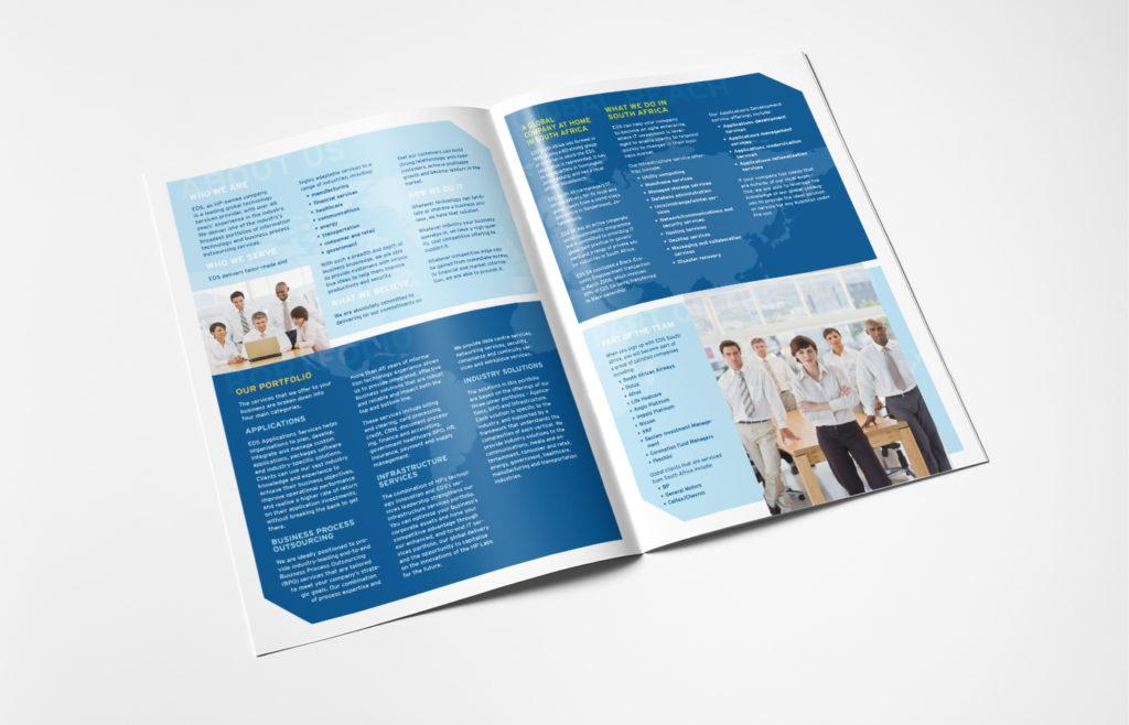 EDS Brochure Design