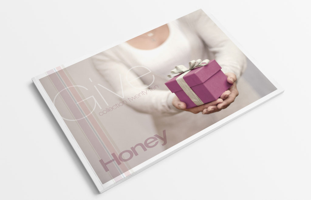 Honey Give Catalogue Design