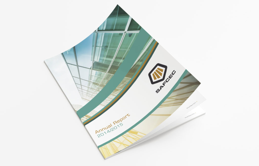 SAFCEC Annual Report Design