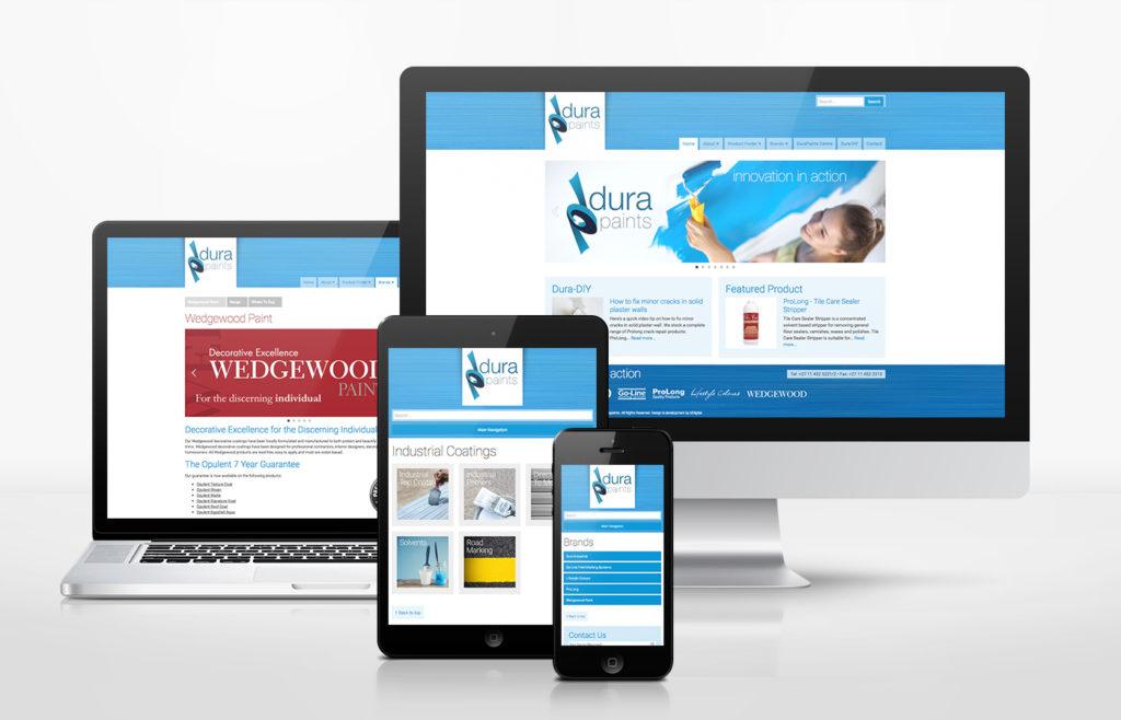 Dura Paints Website Design