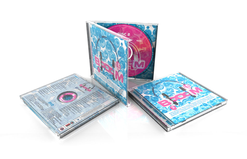 BoOoM 15 CD Sleeve Design