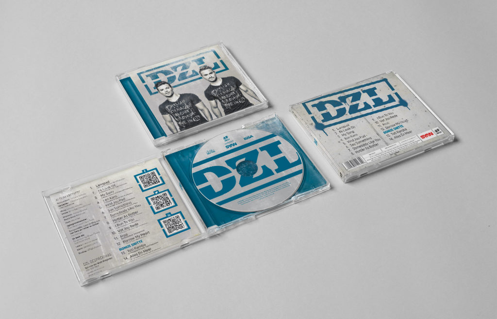DZL CD Sleeve Design