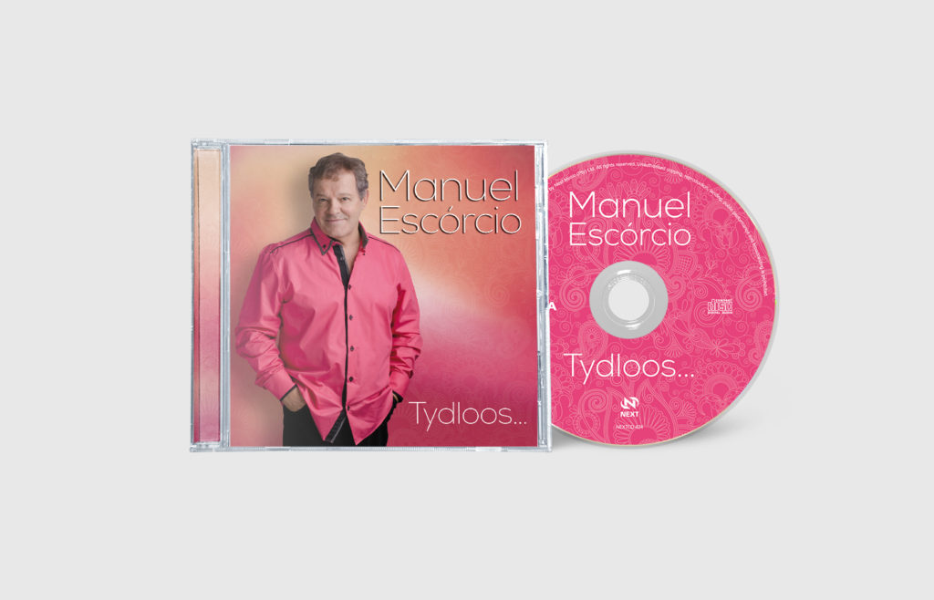 Manuel Escórcio CD Sleeve Design