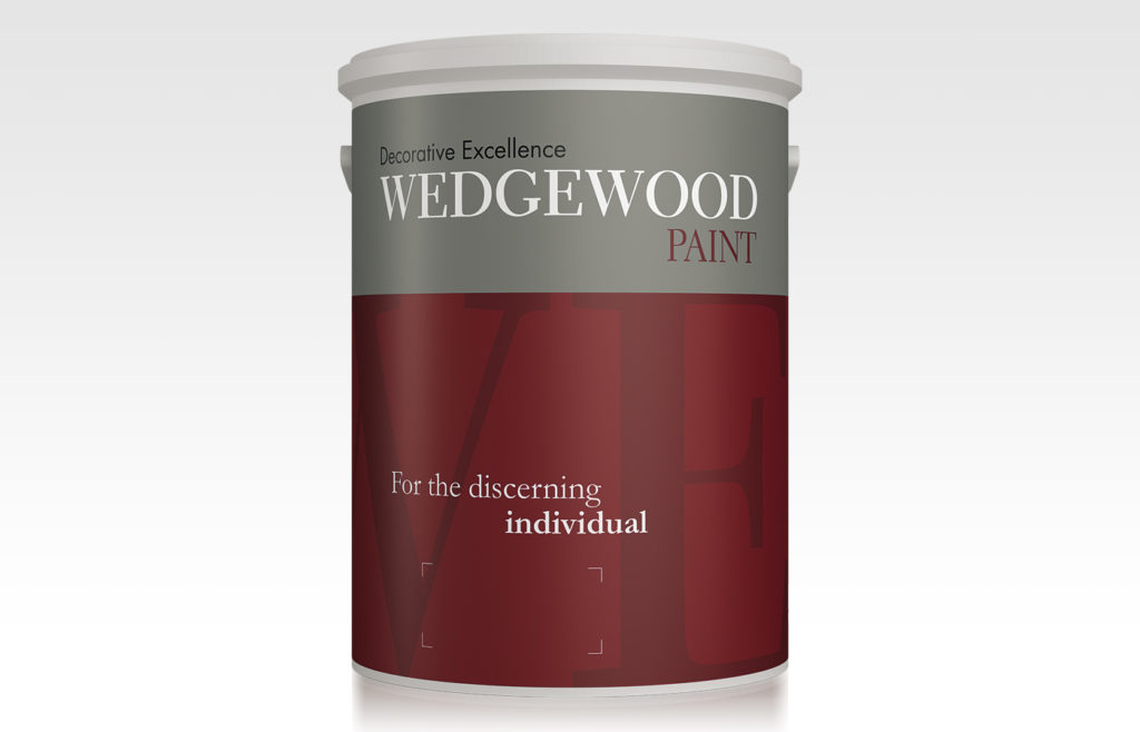 Wedgewood Paint Packaging Design