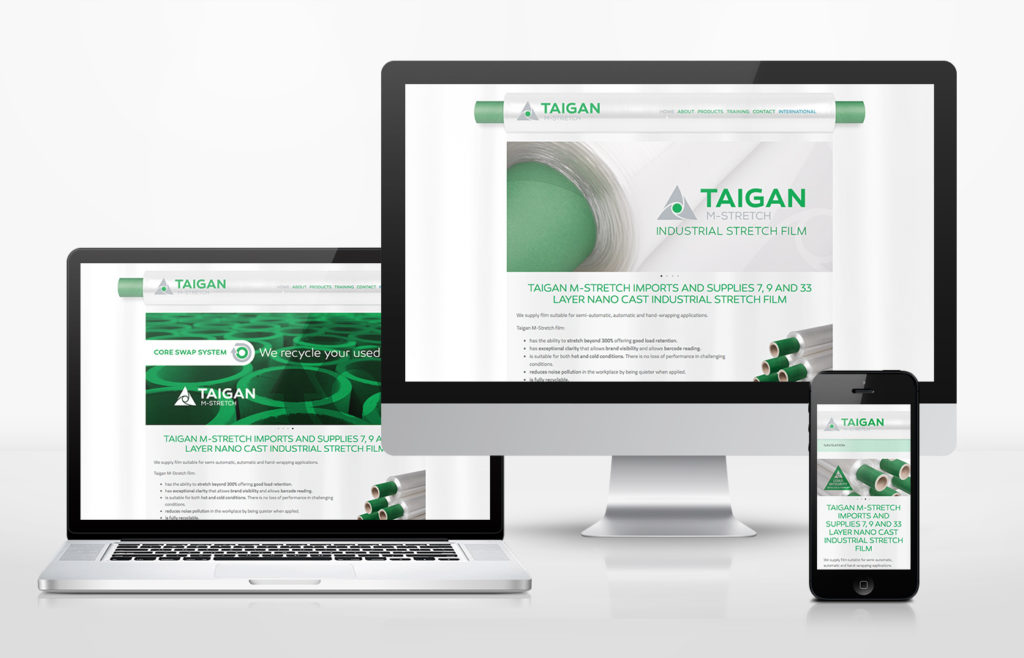 Taigan Website Design
