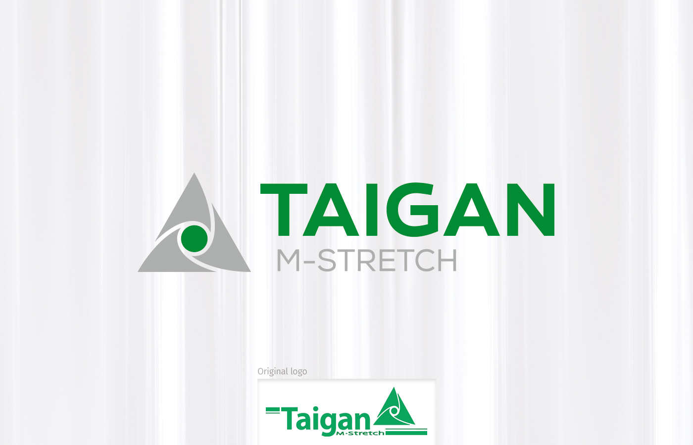 Taigan M-Stretch Logo Redesign and Brand Refresh