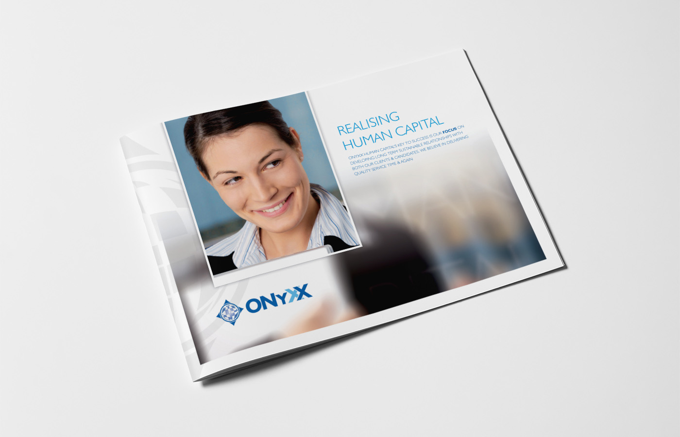 Onyxx Brochure Cover Design