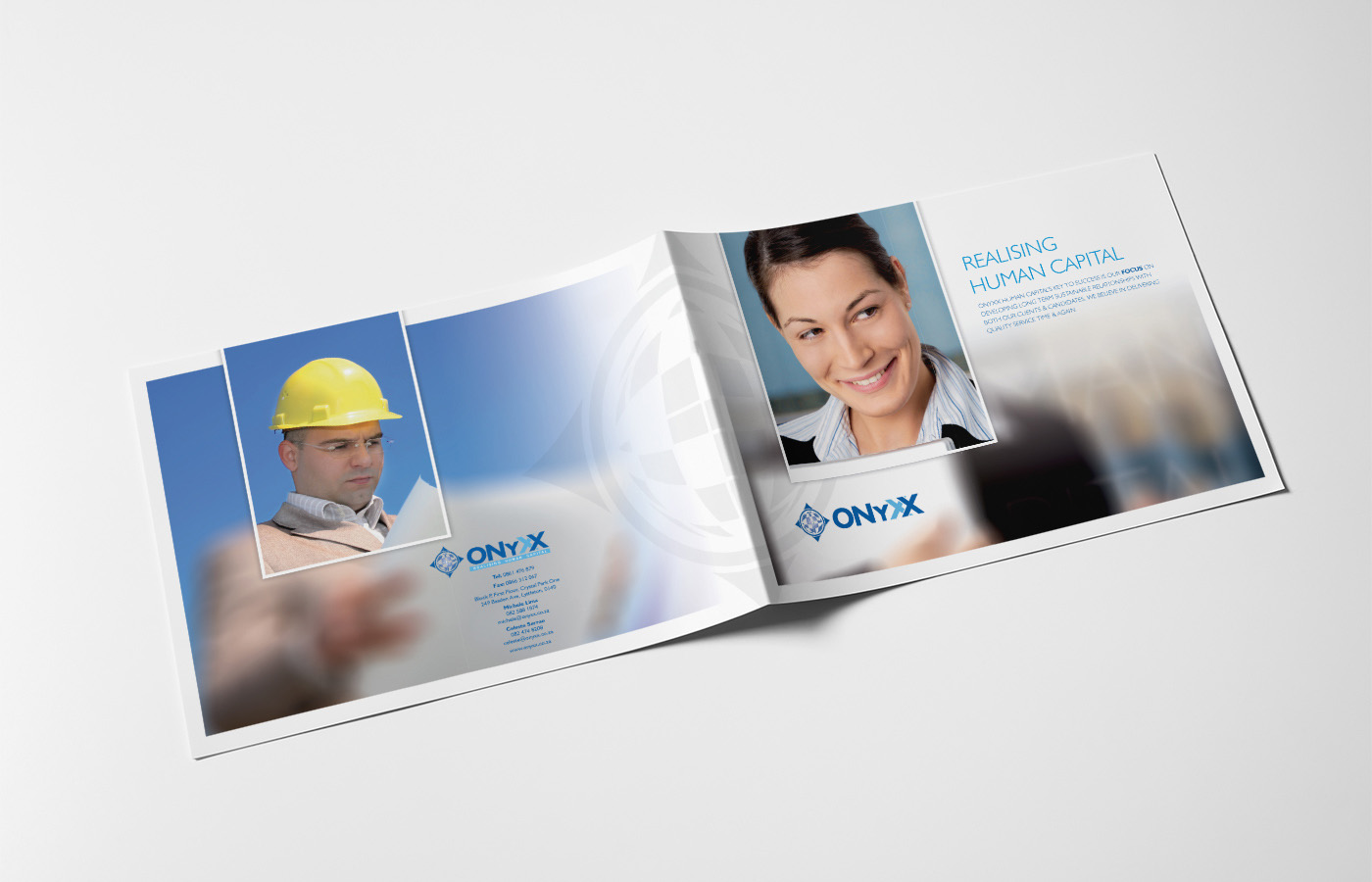 Onyxx Brochure Design Outside Pages