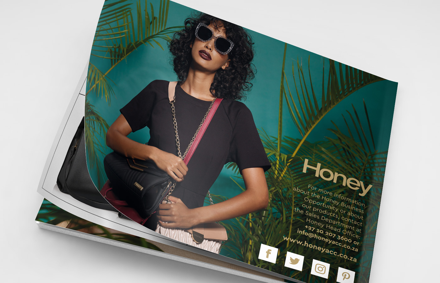 Honey Adore 2018 Catalogue Photography and Design