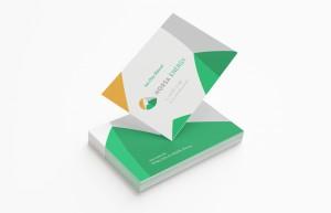 Norsa Energy Business Card Design