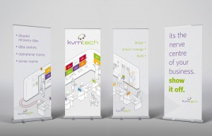KVM Pull-up Banners