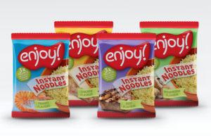 Enjoy Instant Noodle Packaging Design