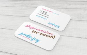 Jumba Jay Business Card Design