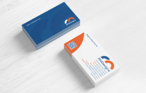 RN Designs business card