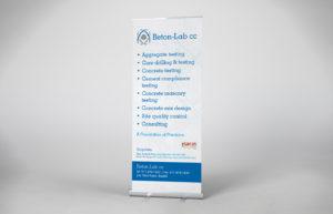 Beton Lab Pull-up Banner Design