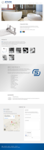 Stark Products Single Page Layout
