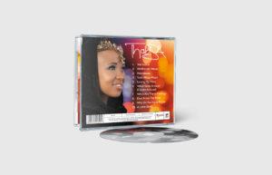 Thabisa – The Journey CD Sleeve Design