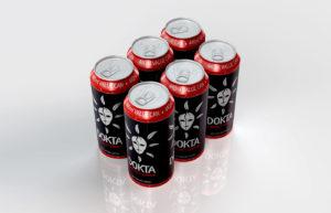 Dokta Energy Drink Packaging Design