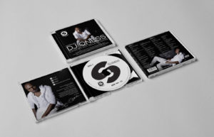 DJ Qness Essential Selections CD Sleeve Design