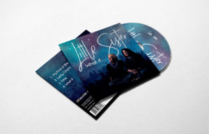 Little Sister CD Sleeve photography and design