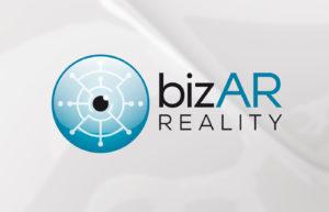 bizAR Reality Logo Design