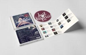 Just Inspired CD Sleeve Design